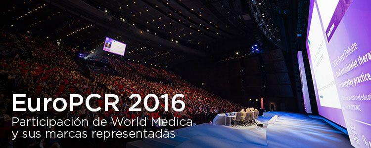 Crónica de participación de World Medica en EuroPCR Paris 2016