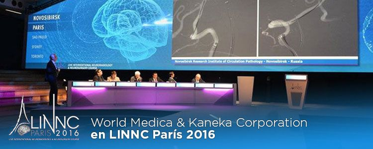 Crónica World Medica & Kaneka Corporation en LINNC 2016 París