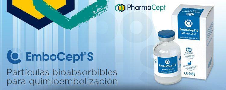 EmboCept® S de PharmaCept | Compañía representada por World Medica