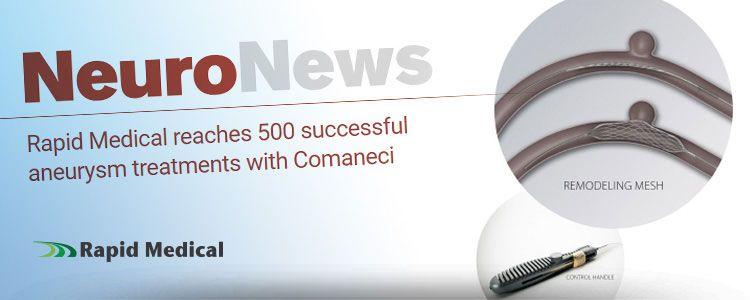 Comaneci, sistema stent para remodeling, en NeuroNews International