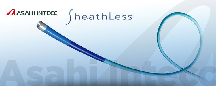 Sheathless de Asahi Intecc | Compañía representada por World Medica