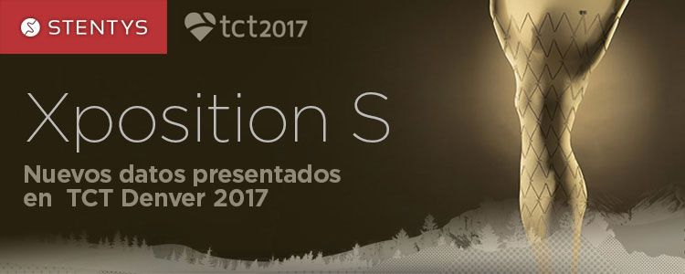 Nuevos datos de Xposition S, de Stentys, presentados en TCT Denver 2017