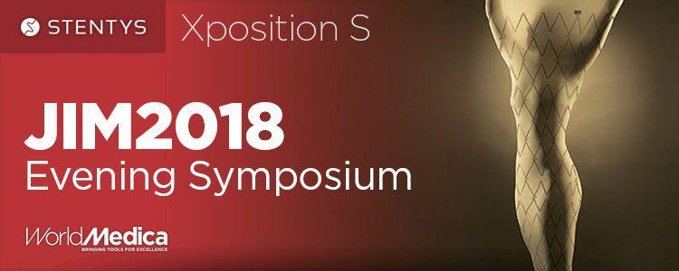 Stentys Xposition S en JIM2018 Evening Symposium