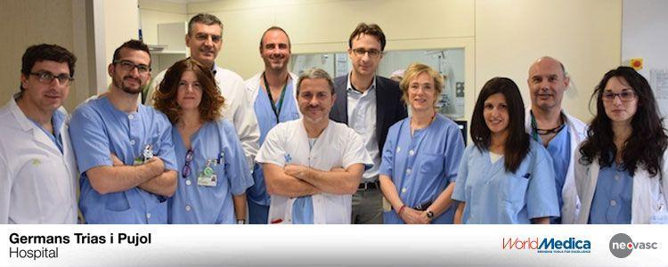 Nuevo implante de Reducer en el Hospital Germans Trias i Pujol, el primero en Cataluña