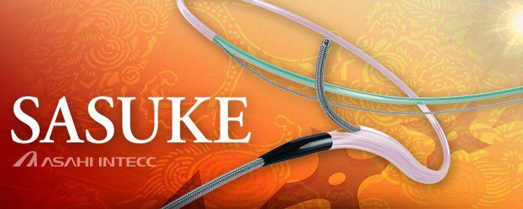 Sasuke de Asahi Intecc | Compañía representada por World Medica