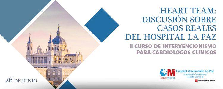 Próximamente se celebrará en Madrid el II Curso de Intervencionismo para Cardiólogos Clínicos