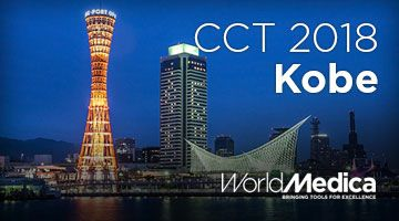 World Medica asiste al CCT 2018 en Kobe, Japón