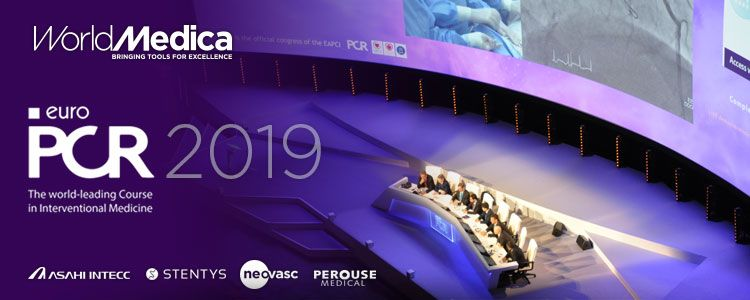 World Medica participará en el próximo EuroPCR2019 con diversas actividades de sus marcas representadas