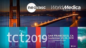 El dispositivo Reducer (Neovasc), distribuido por World Medica, presente en la Convención TCT 2019 de San Francisco