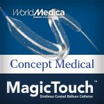 World Medica presenta MagicTouch (Concept Medical) en DEB Symposium Madrid 2019
