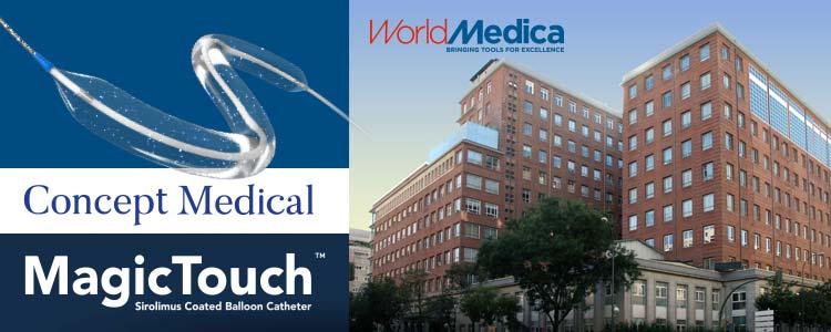 World Medica presenta MagicTouch (Concept Medical) en DEB Symposium Madrid 2019