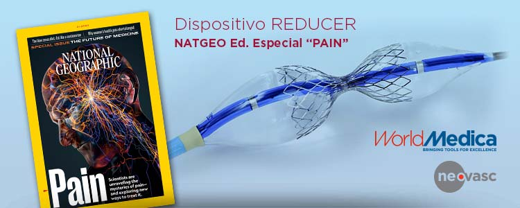 Dispositivo Reducer referenciado en National Geographic Edición Especial DOLOR