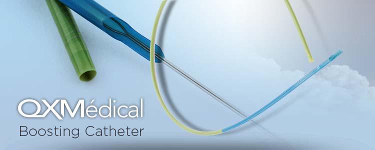 Boosting Catheter de QXMedical | Compañía representada por World Medica
