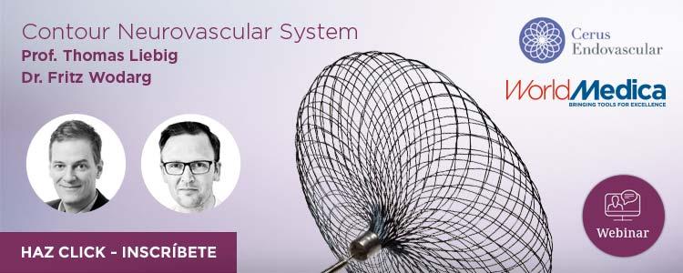 Próximo webinar con Cerus Endovascular: El nuevo Contour Neurovascular System