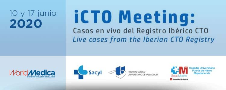 Próximos días 10 y 17 de junio - iCTO Meeting patrocinada por World Medica