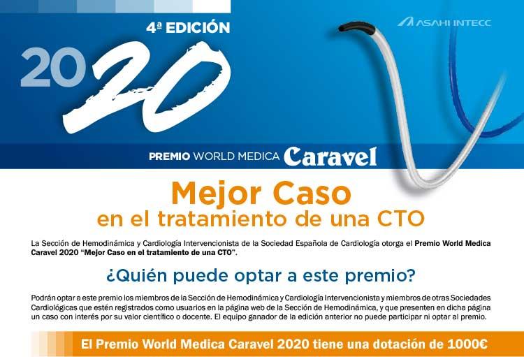 Premio World Medica 2020 Caravel