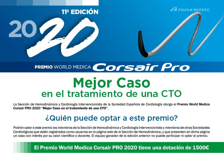 Premio World Medica 2020 Corsair Pro