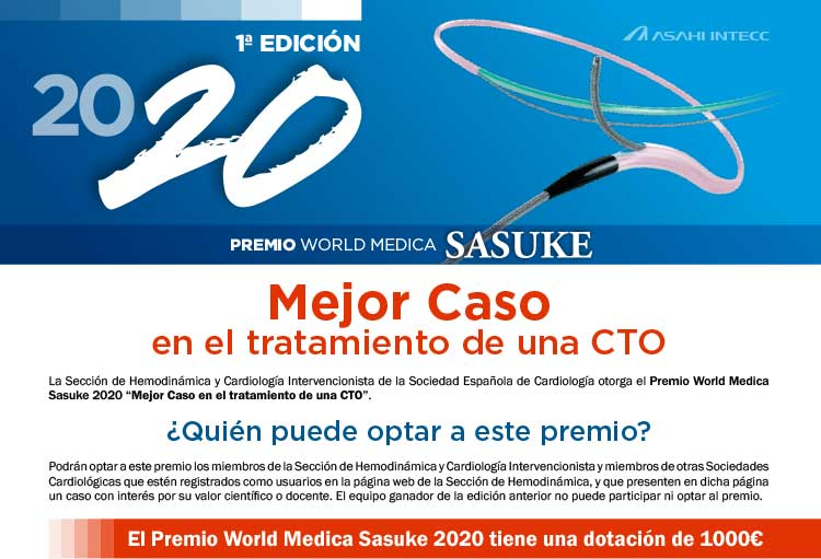 Premio World Medica 2020 Sasuke