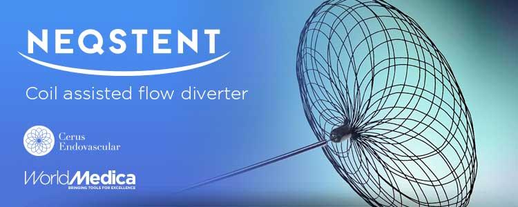 El dispositivo Neqstent (Cerus Endovascular) ya está disponible en el portfolio de World Medica