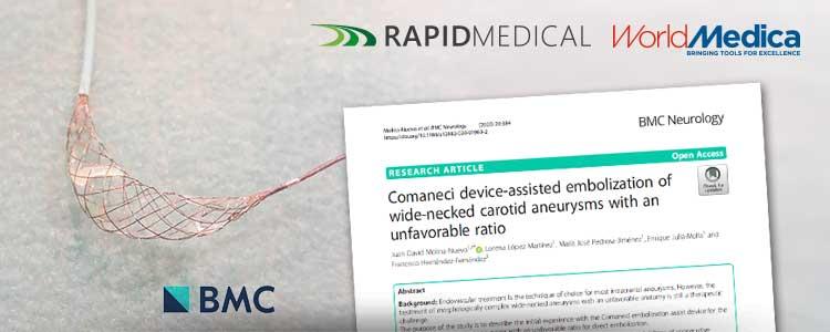 Comaneci (Rapid Medical) – Artículo de investigación publicado en BMC Neurology