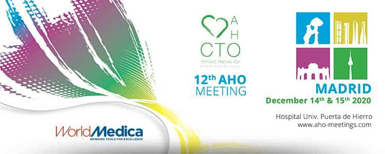 Edición 2020 de AHO Meeting Madrid con la colaboración de World Medica como patrocinador permanente