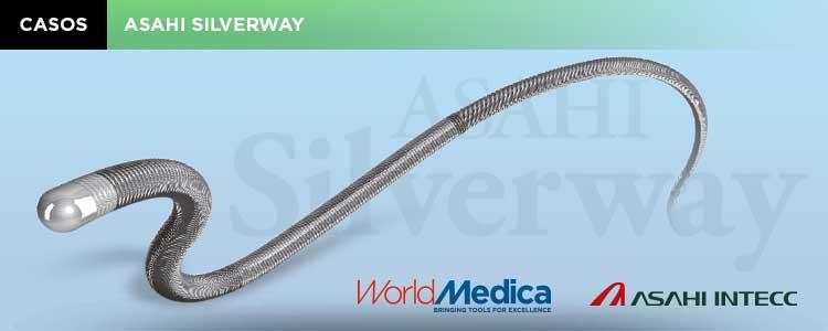 Caso: Utilidad de la Guía Silverway. Estudio vascular del eje aorto-ilíaco-femoral PRE-TAVI, a través de radial derecha
