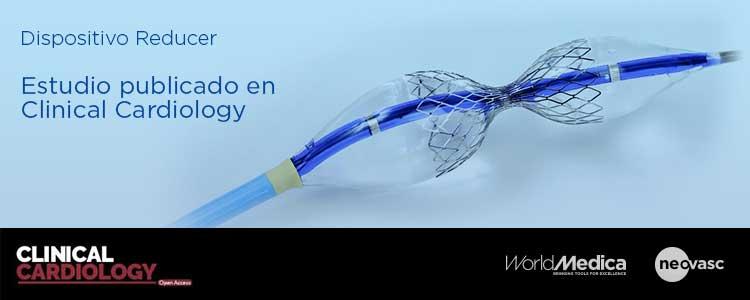 Dispositivo Reducer en publicación de Clinical Cardiology