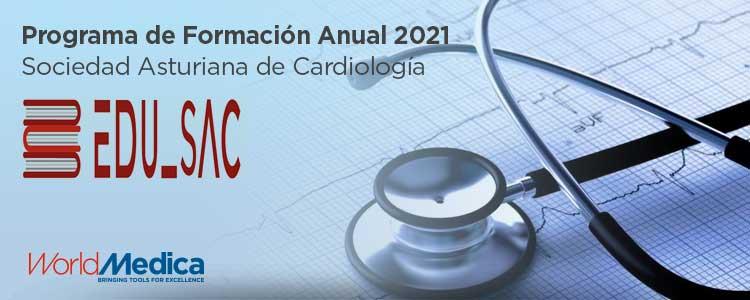 World Medica socio estratégico del Programa de Formación Anual 2021 EDU-SAC