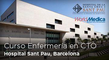Segunda Edición del Curso de Enfermería en CTO Hospital Sant Pau de Barcelona