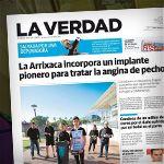 Dispositivo Reducer implantado el pasado viernes en el Hospital Virgen de la Arrixaca de Murcia