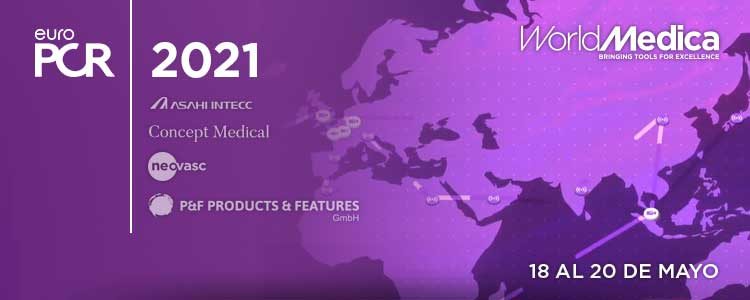 EuroPCR 2021 – Agenda de World Medica y sus marcas representadas